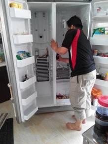 Repair peti sejuk+freezer+chiller+air cond+m basuh