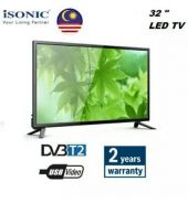 Isonic DVB-T2 HD LED TV 32