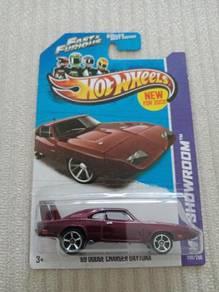 Hotwheels 69 Dodge Charger Daytona FNF 2013