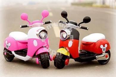Motor Mainan Kanak Kanak Design Mickey Minnie