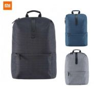 Xiaomi polyester youth leisure Backpacks (Black)