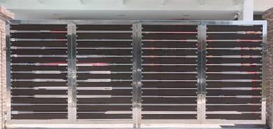 Stainless Steel Main Folding Gate (MFG 3)