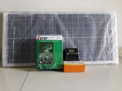 10KM pagar elektrik - 30W solar panel