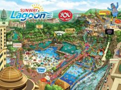 Sunway Lagoon Theme Park Ticket