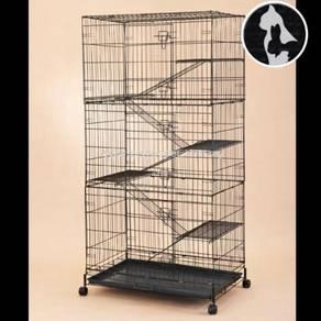 Sangkar Kucing 5lv Cat Cage (NEW BIG)