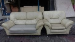 Sofa pure leather 2seater