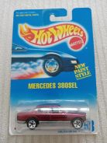 Hotwheels Mercedes 380 SEL