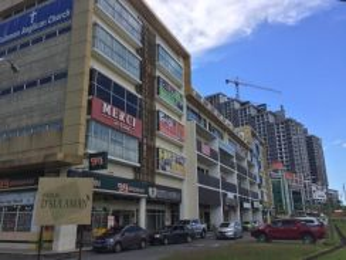 4 Storey Intermediate Shoplot (LIFT) D Sulaman Square Facing Mainroad