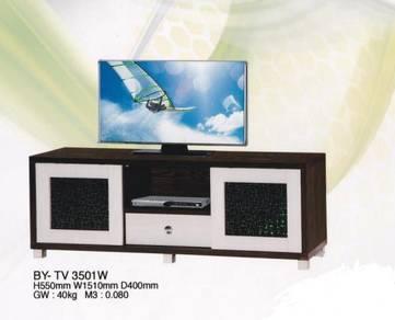 5 FT Tv Cabinet black & white