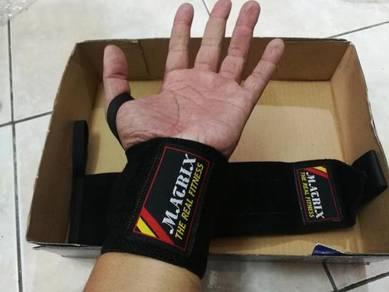 Matrix Wrist wrap black new