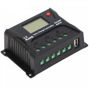 10A PWM Solar Charge Controller 12V/24V