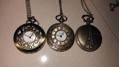 Bronze Locket Watch