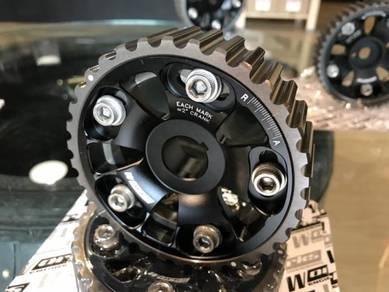 Works cam pulley b16a b16b b18c Gsr b20 b20b