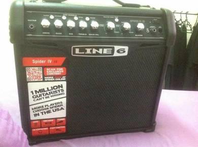 Line6 Guitar Amp - Spider IV 15watt