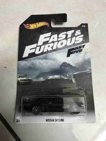 Hot wheels Hotwheels Fast & furious Nissan Skyline