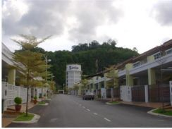 2 storey Terrace house at Setia Vista, Relau, Penang. Freehold