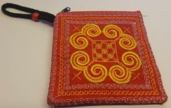 Red coin bag