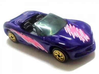 1994 Matchbox CORVETTE STINGRAY III purple