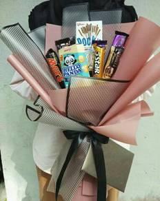 Chocolate bouquet/bouquet coklat/surprise bouquet