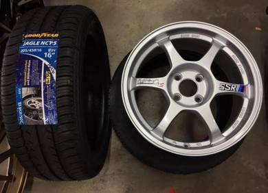 Sport Rim Ssr type-C 16 siap Tyr