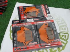 Semi Metal Front Disc Brake Pad RS150R Y15ZR LC135