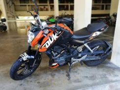 2014 KTM 200 Duke Hardly use