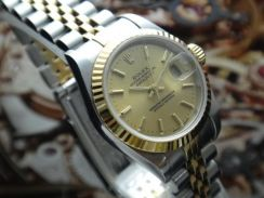 R391) rolex 2003 oyster perpetual datejust 79173