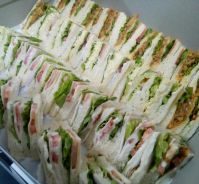 Triple Mixed Sandwiches & Variety of Sandwiches