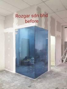 Gypsum board partition area damansara