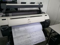 A0 A1 Color Copy Print Scan Service