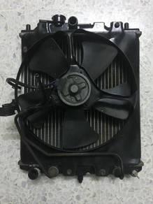 Exhaust pipe/radiator.meter