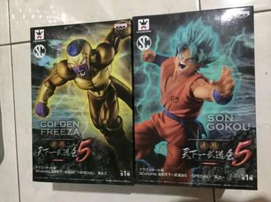Banpresto scultures 5 Super Saipan God Son Goku