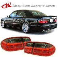 Mercedes Benz W210 Smoke Tail Lamp Light Set
