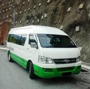 Sewa Van / Rental Van hire transfer PROMOSI RATES