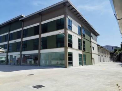 Taman Perindustrian Meranti Utama, Puchong 3 Storey Factory Warehouse