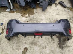Honda civic fc 2nd rear bumper with skirt and lip