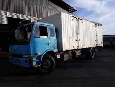 Used NISSAN LKA211N Box Van Truck