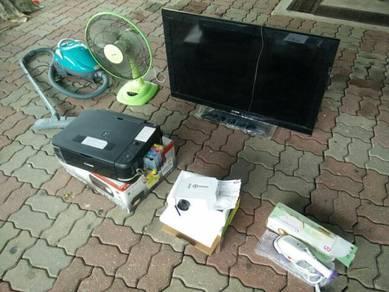 TV SoNy, Elba, Canon, Pensonic