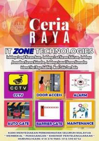 Kelantan cctv hik vision dahua cyninc all in one