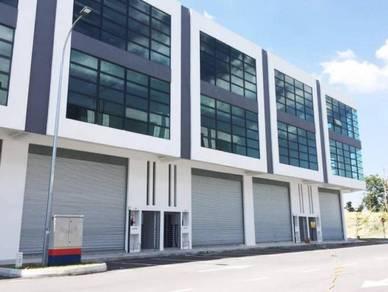 Mivo Industrial Park ,Kepong KIP Desa Aman 3 storey Link Factory