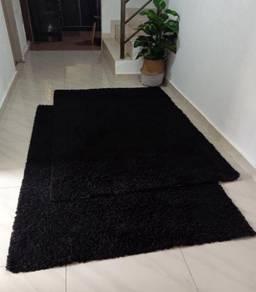 Karpet IKEA (hitam)