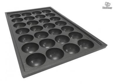 Takoyaki Plate 28 Hole , 38mm Hole size
