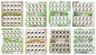 Mint Stamp Sheet Bird Definitive Malaysia 2005