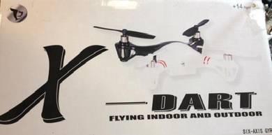 RC PLANE HELI jet Xdart 2.4G Drone Quadcopter RTF