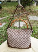 GUCCI bamboo two handle kueii