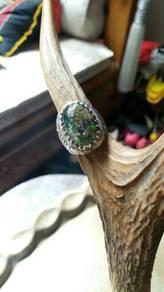 R65 Cincin Boulder Opal