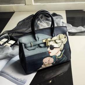 Handbag bag graffiti slingbag skeleton RBHB010
