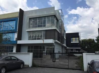 3-Storey Semi-D Factory at i-Parc 1, Bukit Jelutong for SALE
