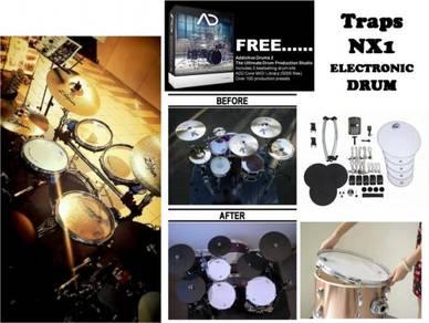TRAPS NX1 electronics drum vdrum digital drum