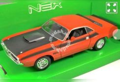 Welly nex 1970 dodge challenger scale 1/24